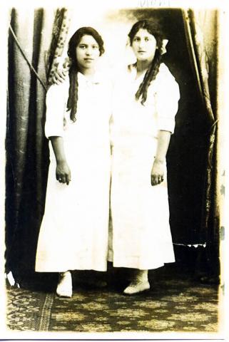 """Caroline Mabel Ferris, Charlotte """"Lottie"""" Ferris"""