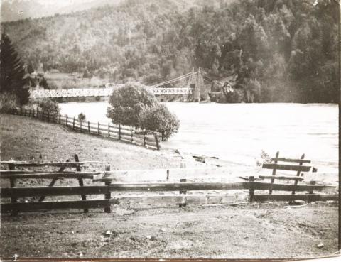 Orleans Bridge below Forest Service
