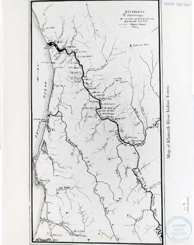Map of Klamath River Indian Towns | Sípnuuk Karok Tribe Of The Klamath River Map on map of the golden gate bridge, map of the western united states, map of klamath river estuary, map of the keys, map of the san diego, map of the rio grande, map of the california delta, map of klamath ca, map of the orleans, map of the rocky mountains, map of the gulf of california, map of the grenada, map of the lake erie, map of the siskiyou mountains, map of california indian reservations, map of the yellowstone national park,